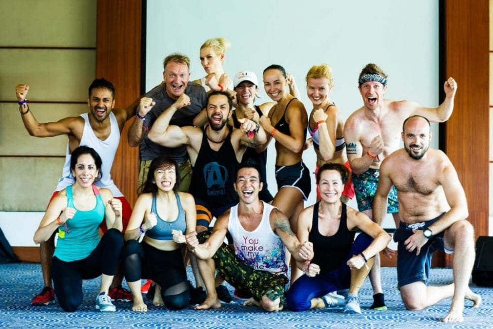 Taking Care Of Fitness at A-Fest Bali 2018